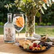 Kangaroo Island Spirits Gin pictured with platter